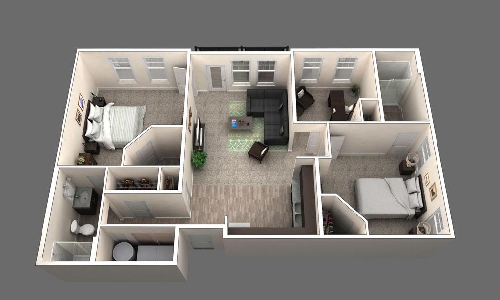 The Donington floor plan
