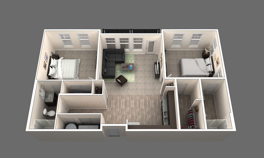 The Orleans floor plan