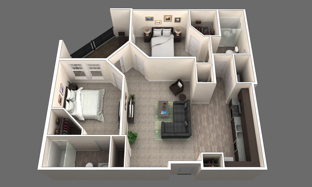 The Rutherford floor plan